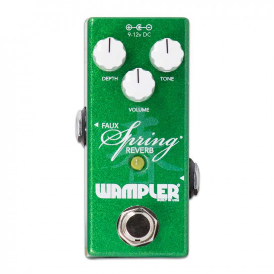 New Gear Day Wampler Mini Faux Spring Reverb