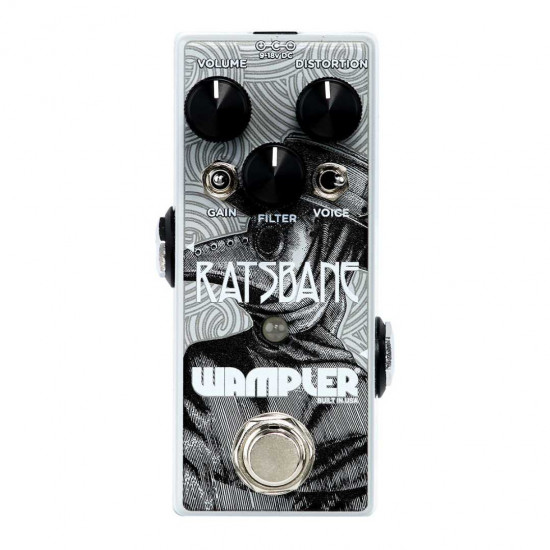 New Gear Day Wampler Ratsbane 9v-18v High Gain Distortion Pedal