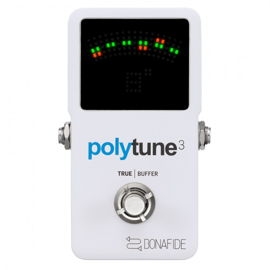New Gear Day TC Electronic Polytune 3 Ultra-Compact Polyphonic Tuner