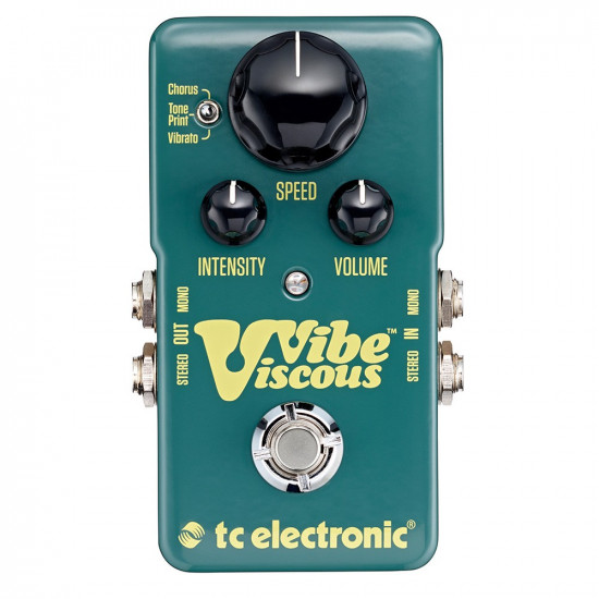 New Gear Day TC Electronic Viscous Vibe Vibrato
